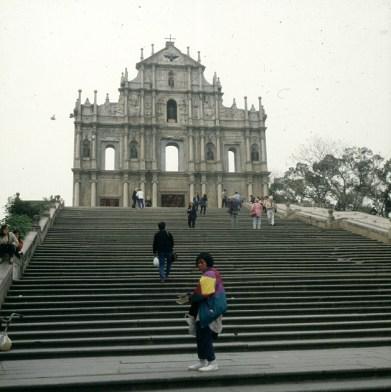 Hongkong/Macau-Port. Kathedrale 1997