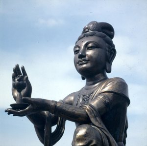 Hongkong-Lantau-Kloster 1997