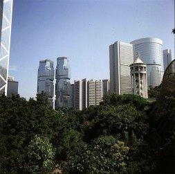 Hongkong-Victoriapark Lippocenter(li.) 1997
