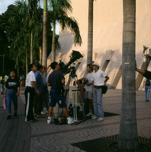 Hongkong-Ruhezone gegenüber Conventionhall 1997