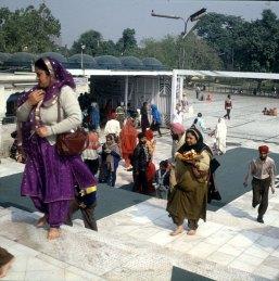Indien-Delhi-Buddhatempel 1999