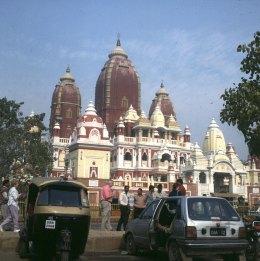 Indien-Delhi-Hindutempel 1999