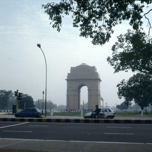 Indien-Delhi-Indiagate 1999