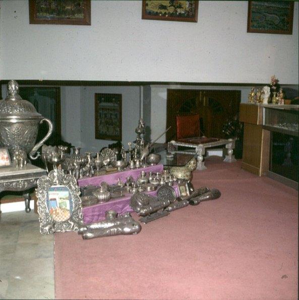 Indien-Fatehpur-Palstshop 1999