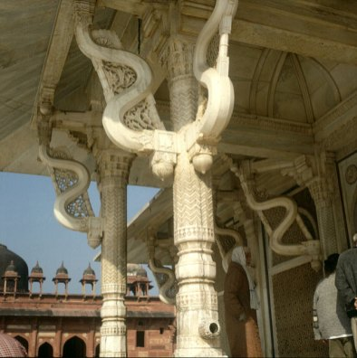 Indien-Jaipur-Zentrum Schlangentempel-1999
