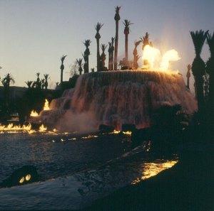 las-vegas-künstl. vulkan neue spektakel 1991