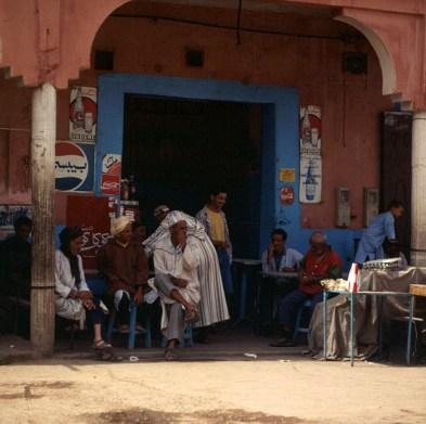 Marokko-Teestube 1995