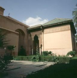 Marokko-Marrakesch Saadiergräber 1995