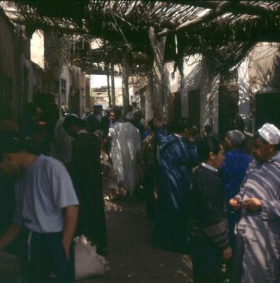 Marokko-Marrakesch Souk-1995