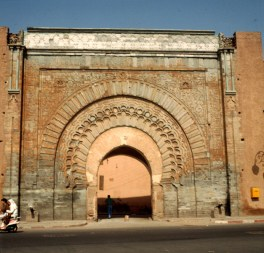 Marokko-Marrakesch Stadttor 1995