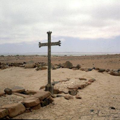 namibia-Skelettküste Portugiesengrab 1987