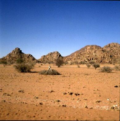namibia-Region Brandberg 1987