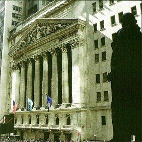new-york-Börse in alten Zeiten 1983