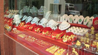 new-york-Gold und Edelsteine in Chinatown 2003