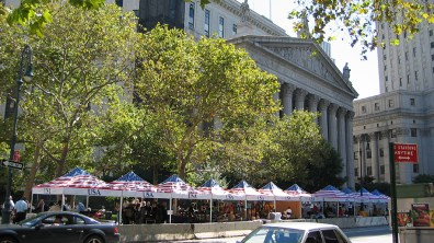 new-york-Event bei Cityhall 2003