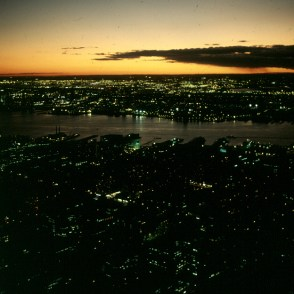 new-york-Blick vom Empire 1988