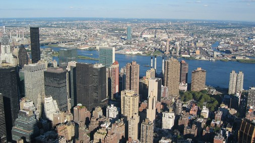 new-york-Blick nach Brooklyn 2003