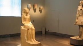 new-york-Hatschepsut Statue im Metropoliain 2003