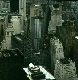 new-york-Wallstreetviertel aus Hubschrauber 1983