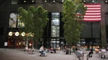 new-york-Ruheplätzchen in Manhattan 2003