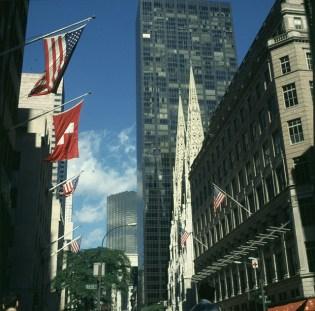 new-york-St.Patricks-Cathedral und Trumptower 1998