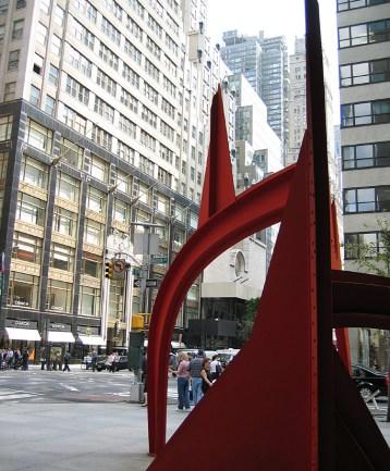 new-york-Moderne Plastiken im Strassenbild 2003