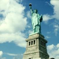 new-york-Liberty Statue im September 1994