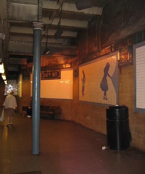 new-york-U-Bahn Station 50.street 2003