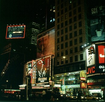 new-york-Timessquare am Theaterende 1994