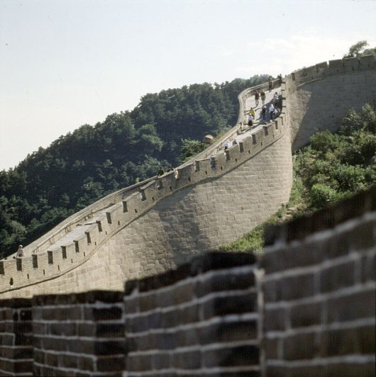 Peking chin.Mauer Touristenabschnitte 2000