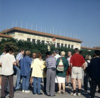 Peking-Gruppe vor Volkshalle 2000