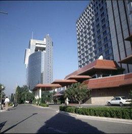 Peking-Hotelvorfahrt 2000