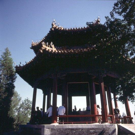 Peking-Kaiserpalast-Kohlenhuegel Pavillon 2000