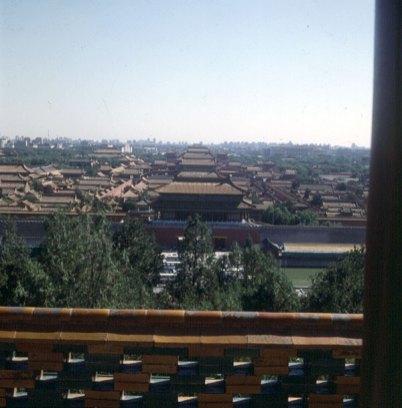 Peking-Kaiserpalast-Blick vom Kohlenberg 2000