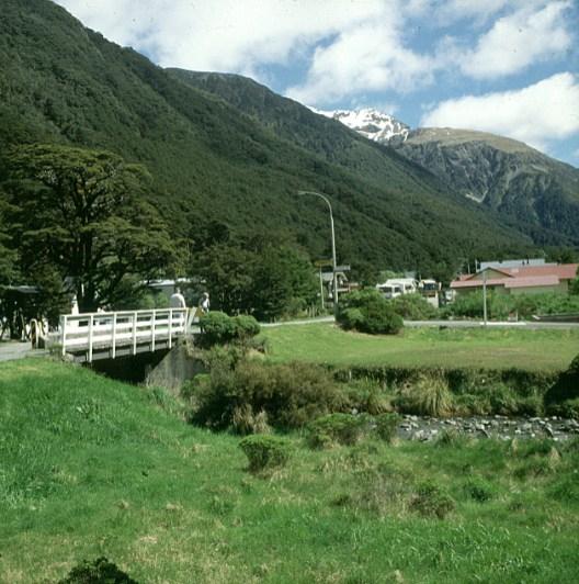 neuseeland queenstown-gebirgsdorf 2001