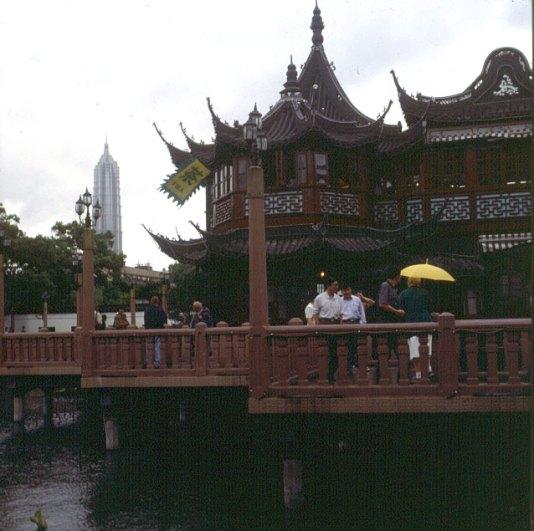 Shanghai-Stadtgarten 2000