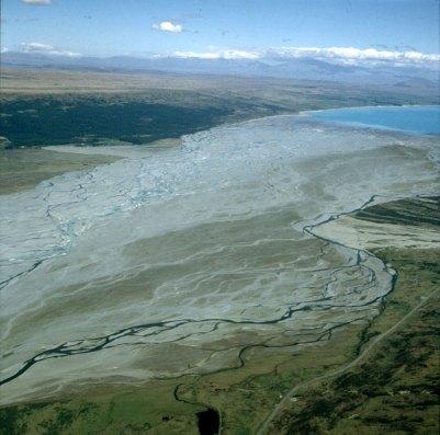 neuseeland-Mt.Cook-Rückflug 2001