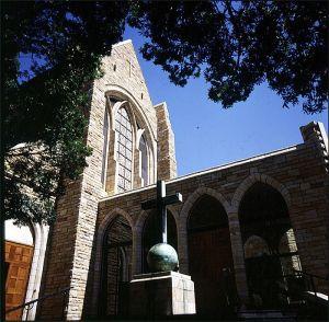 suedafrika-Kirche in Kapstadt 1987