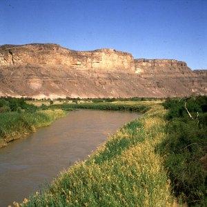 Südafrika/Namibia -Oranjefluss 1987