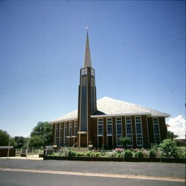 Suedafrika Kirche Upington 1987