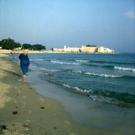 Tunesien-Hammamet-Burg 1980