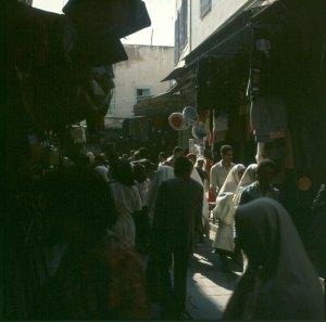 Tunesien-Souk 1980