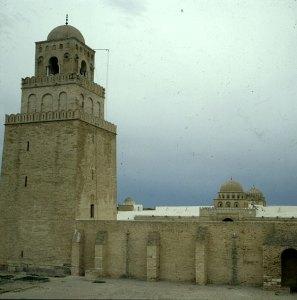 Tunesien-Kairuan Moschee 1980