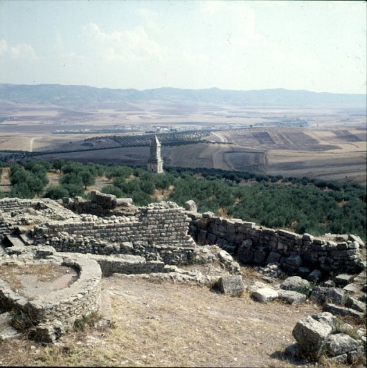 Tunesien-Thuburjo Majus Ausblick 1980
