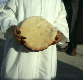 tunesien-Korba Hammelfest Fladenbrot 1979