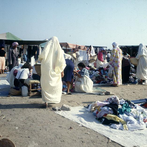 Tunesien Markt 1979