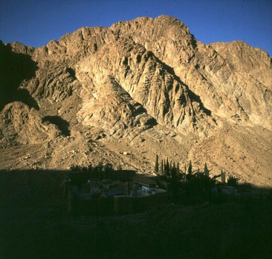 aegypten-sinai-kloster-Morgen 1981