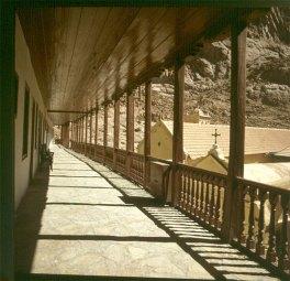 aegypten-sinai-klostergang 1981