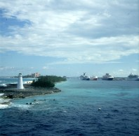 Bahamas-Nassau-Ausfahrt
