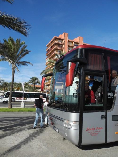 Bustour bei Cartagena